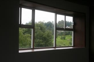 Vista posterior desde aula