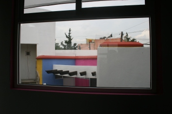 Vista anterior desde aula